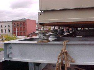 Noise and Vibration Control Rooftop Air Handling Unit