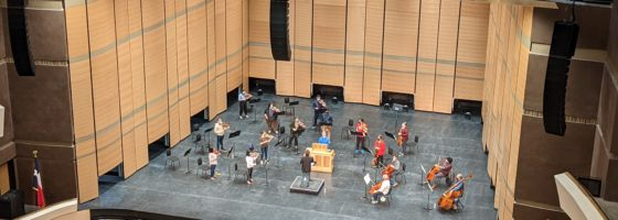 Acoustics in Buddy Holly Hall